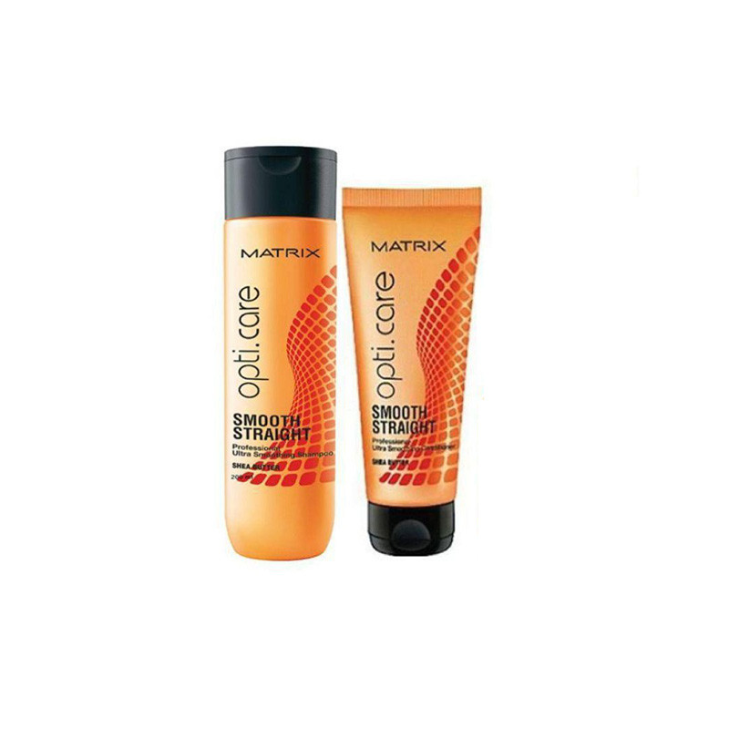 Matrix OptiCare Smooth Shampoo - 200ml & Conditioner - 196g  Combo