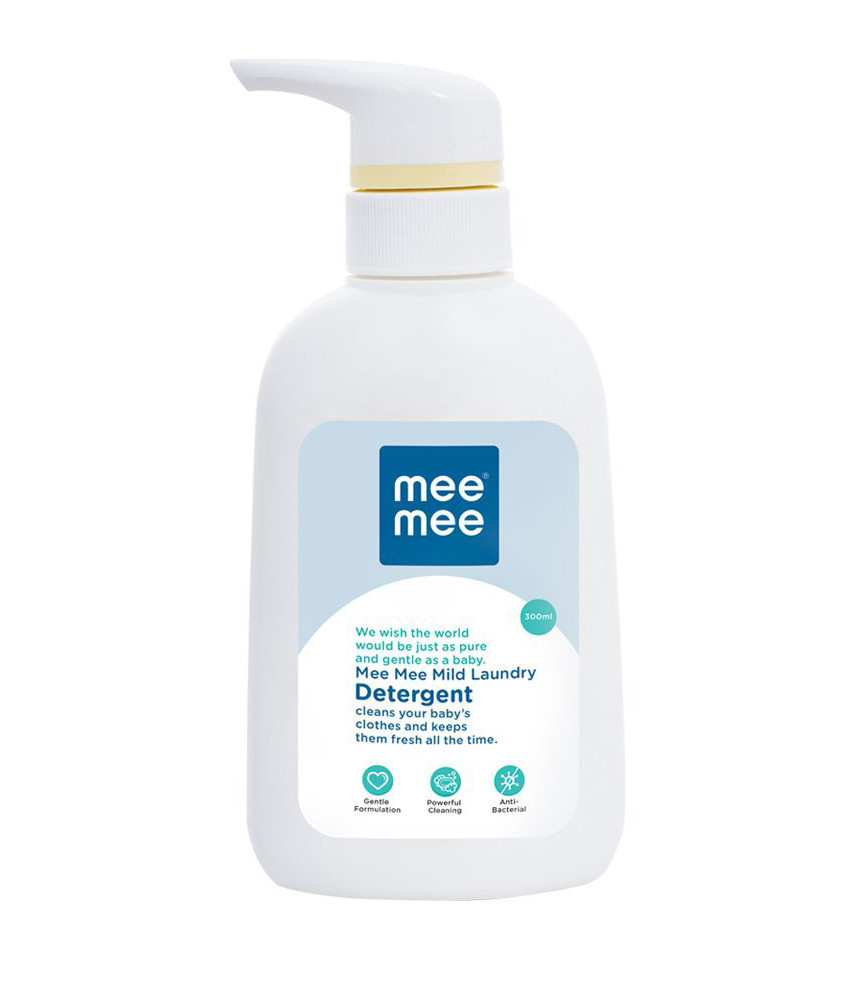Mee Mee Mild Baby Liquid Laundry Detergent, 300ml, White