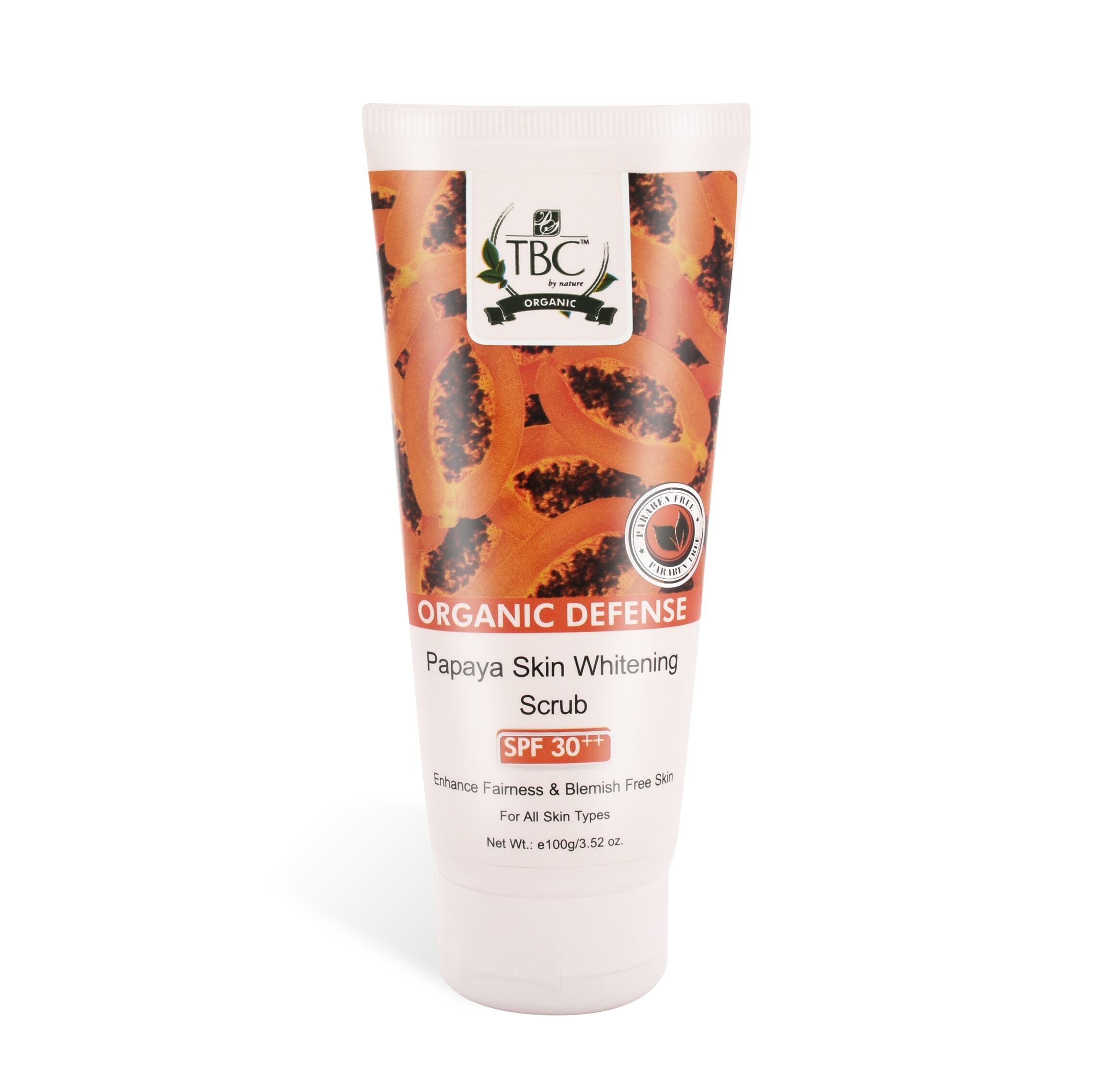 TBC Papaya  Face Scrub 100 gm