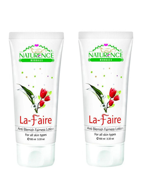 Naturence La Faire Fairness Lotion 100ml (Pack OF 2)