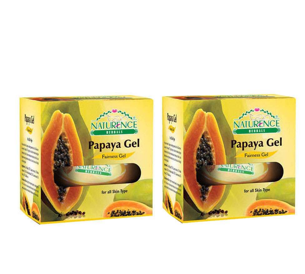 Naturence Herbal Papaya Fairness Gel 100g (Pack OF 2)