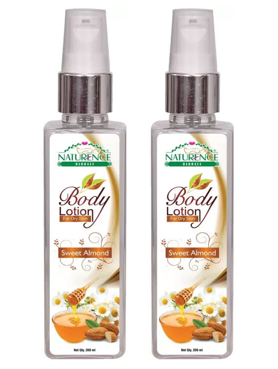 Naturence Herbals Sweet Amond Body lotion 200ml(Pack of 2)