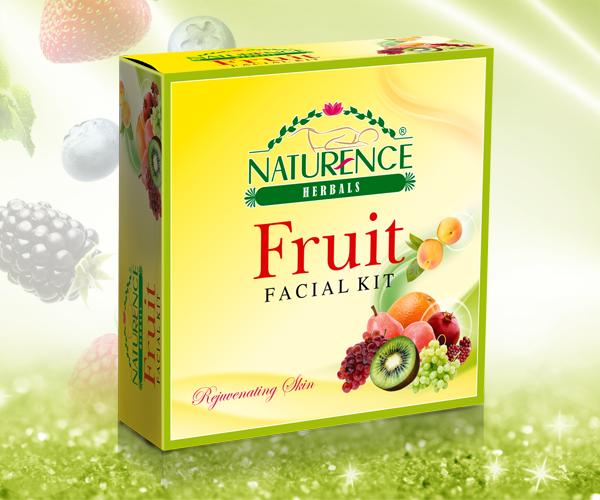 Naturence Herbals Fruit Facial Kit (80g)