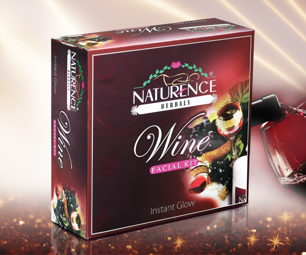 Naturence Herbals Wine Facial Kit (80g)
