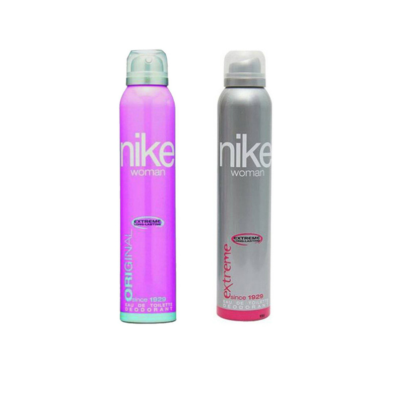 Nike Extreme Original Body Spray - For Women  (200 ml, Pack of 2)