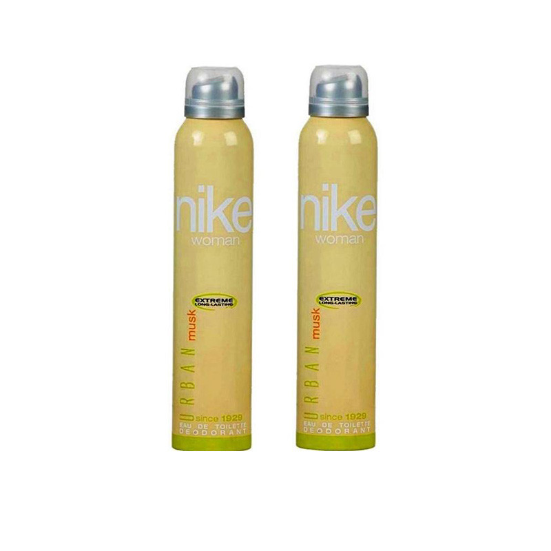 Nike Women Musk Urban Deodorant Spray - For Women  (200 ml, Pack of 2)