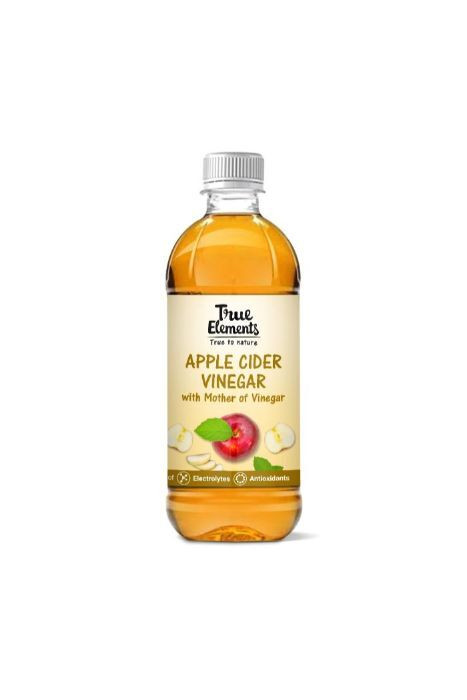 True Elements Apple Cider Vinegar With Mother Of Vinegar 500ml