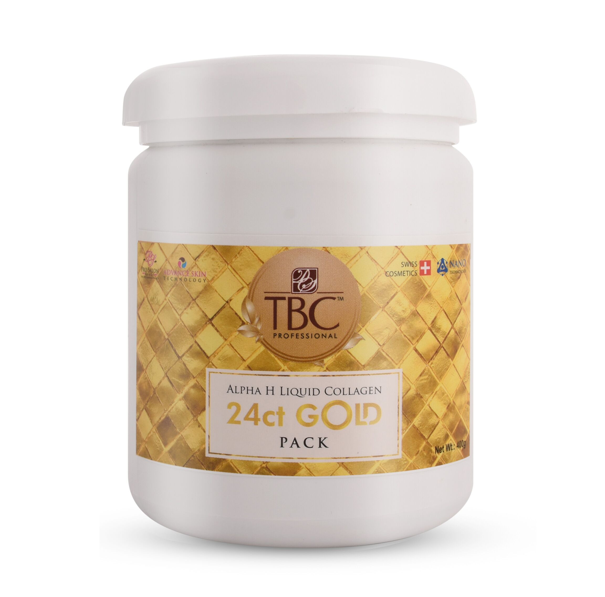 TBC Pro 24ct Gold Face Pack 400gm