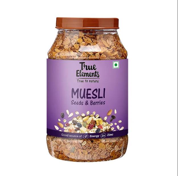True Elements Seeds And Berries Muesli 1000gm