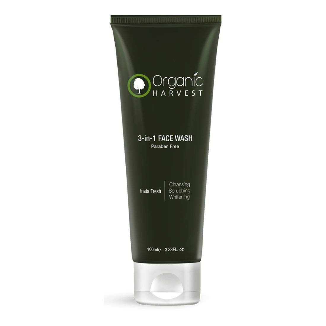 Organic Harvest 3-In-1 Face Wash 100g
