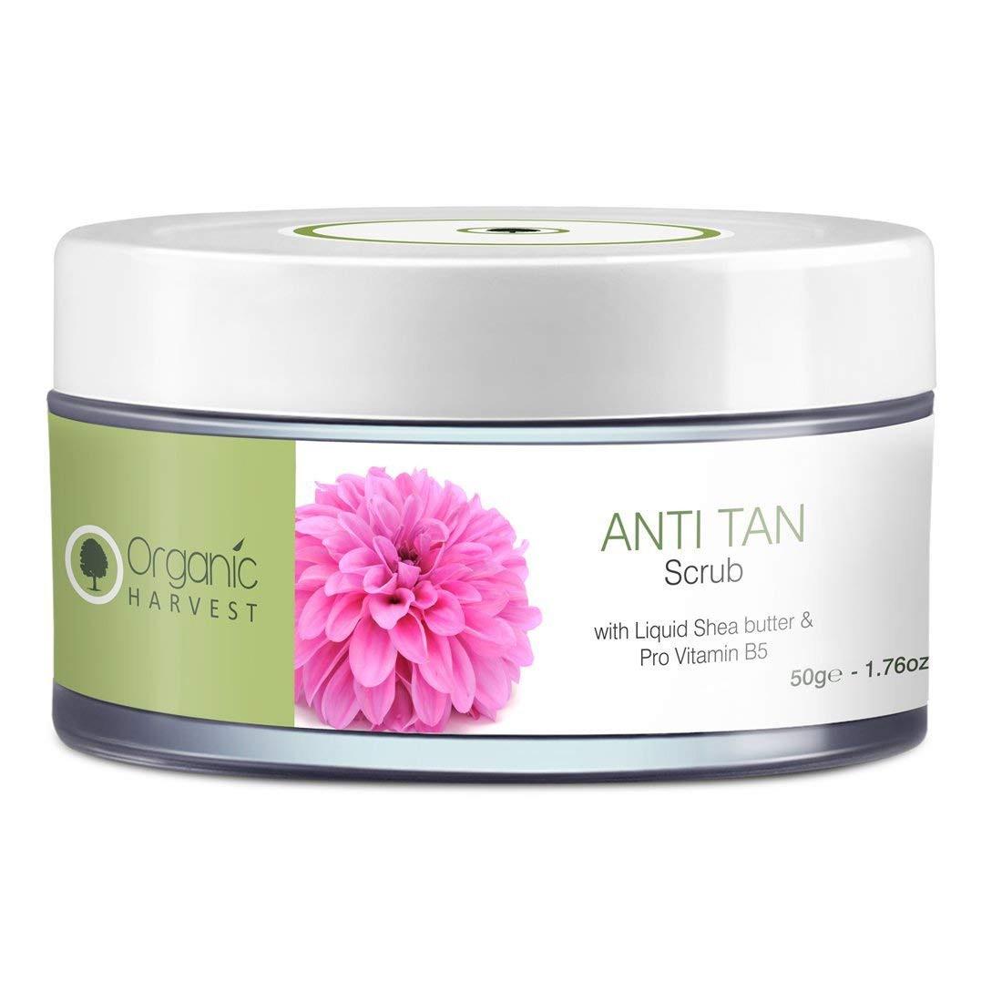 Organic Harvest Anti Tan Scrub 50g