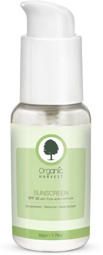 Organic Harvest Sunscreen  SPF 30 (50g)