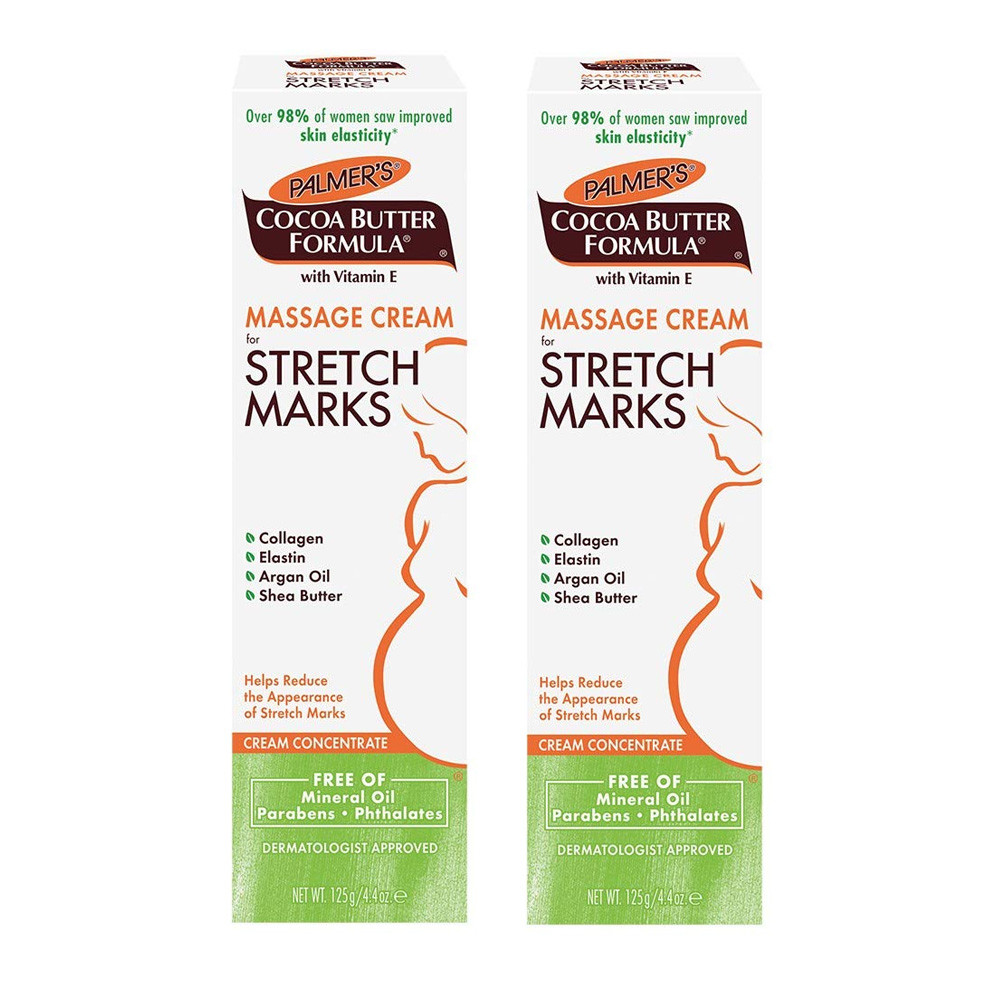 Palmer's Cocoa Butter Formula Massage Cream For Stretch Marks 125GM-Pack of 2