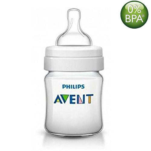 Philips Avent 125ml Classic Plus Feeding Bottle (Single Pack)