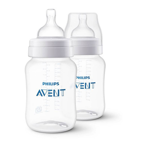 Philips Avent 260ml Classic Plus Feeding Bottle (Twin Pack)
