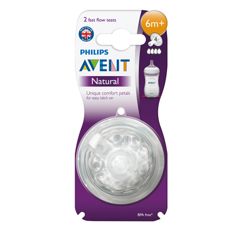 Philips Avent Natural Teat 6M+
