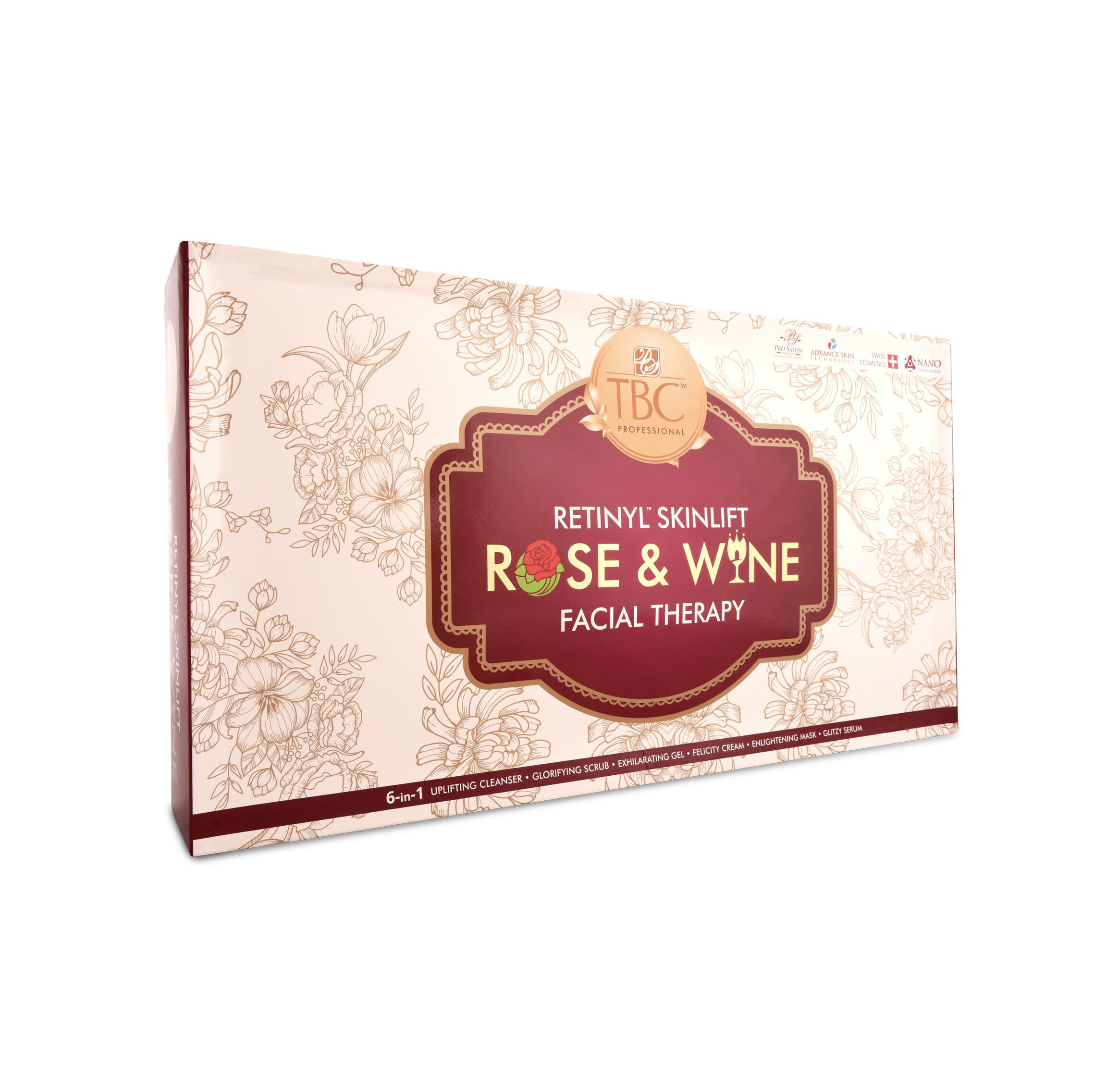 TBC Pro Rose N Wine Facial Kit 550Gm