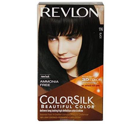 Revlon Colorsilk With 3d Technology Black 1n, Hair Color  (Black)
