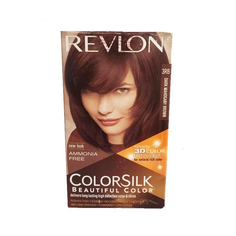 Revlon Colorsilk Hair Color  3RB (Dark Mahogany Brown)