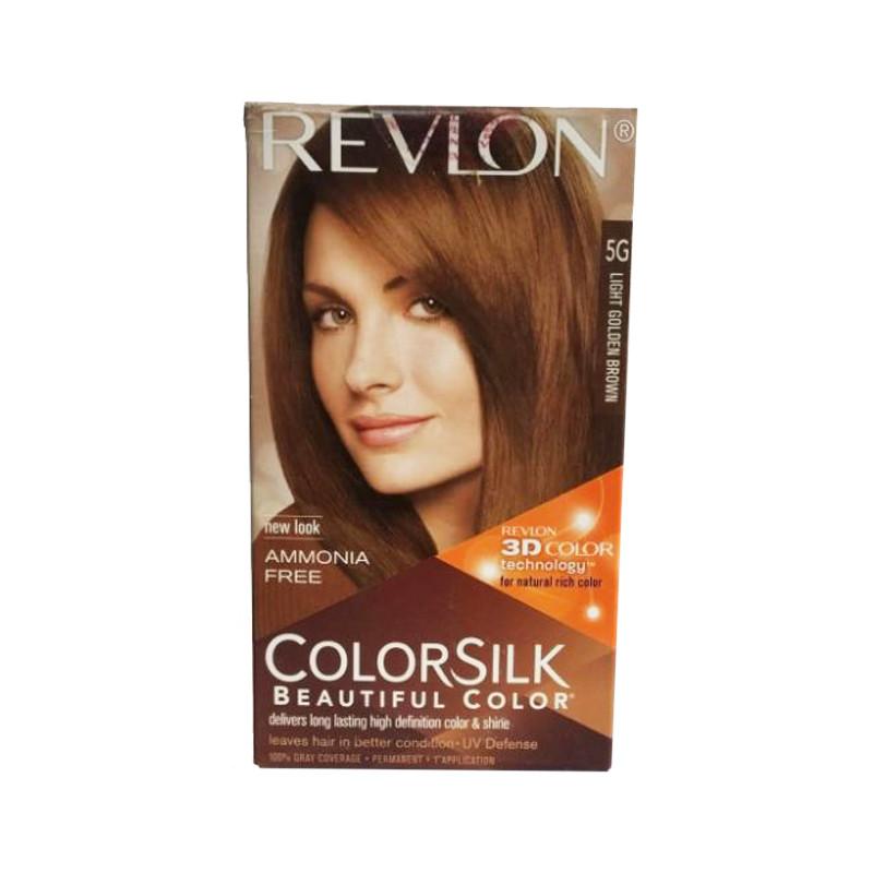 Revlon Colorsilk Hair Color  (Light Golden Brown 5G)