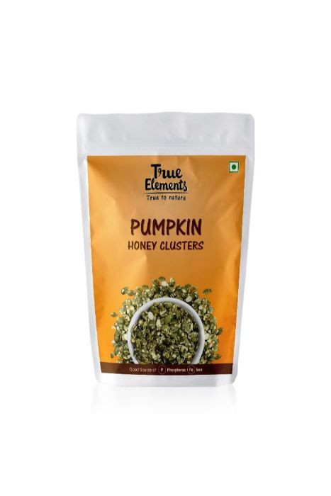 True Elements Pumpkin Honey Clusters 125gm