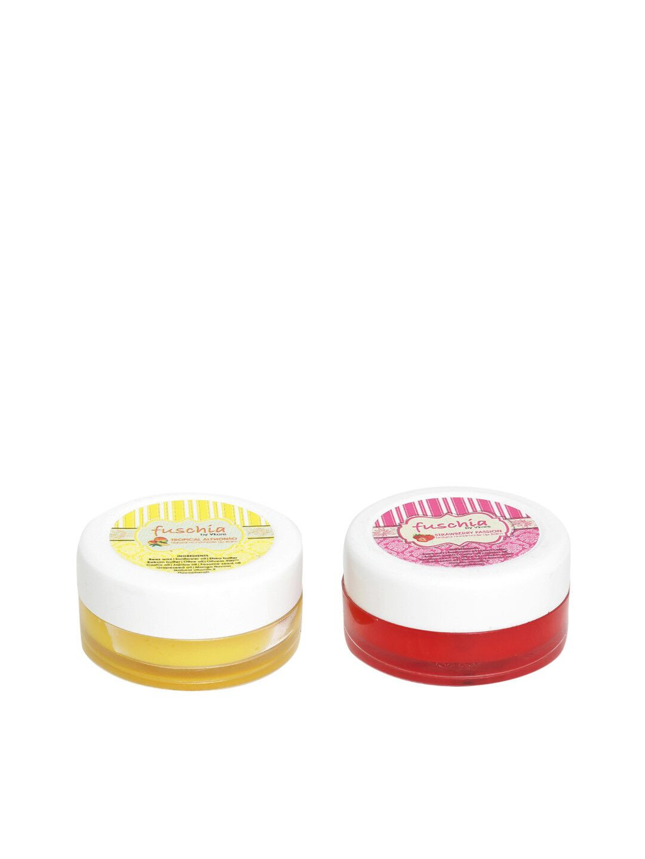 Fuschia – Strawberry & Alphonso Lip Balm Combo 16gm