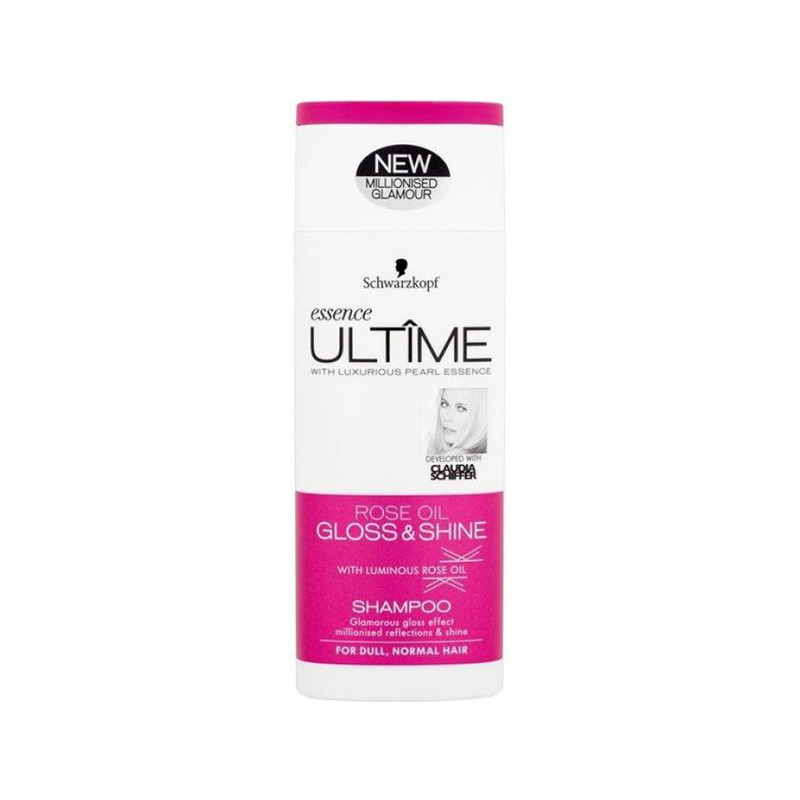 Schwarzkopf Essence Ultime Rose Oil Gloss & Shine Shampoo 250ml