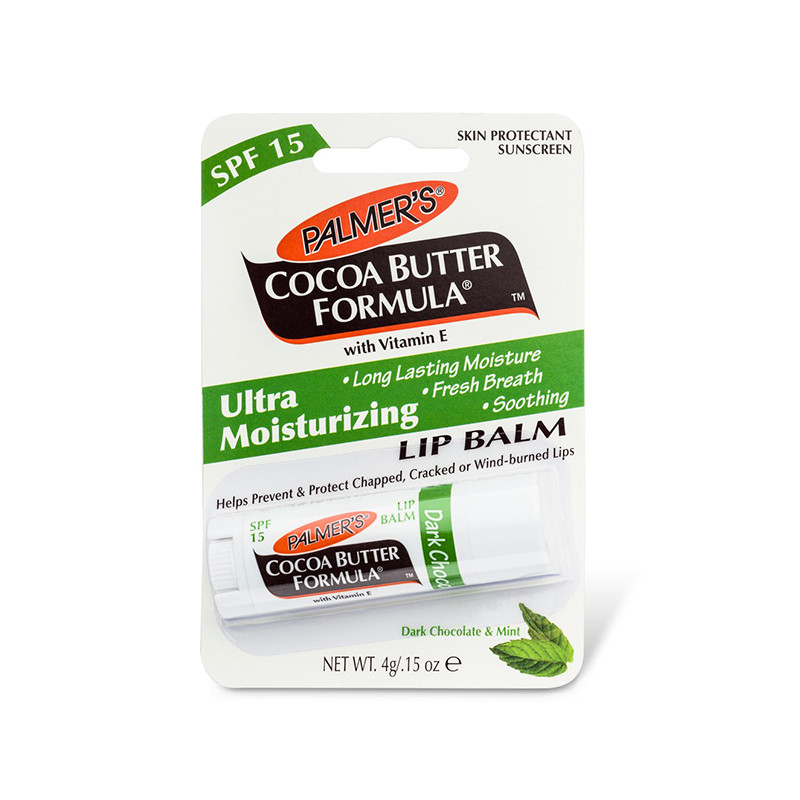 Palmer's Dark Chocolate & Mint Ultra Moisturizing Lip Balm (4g)