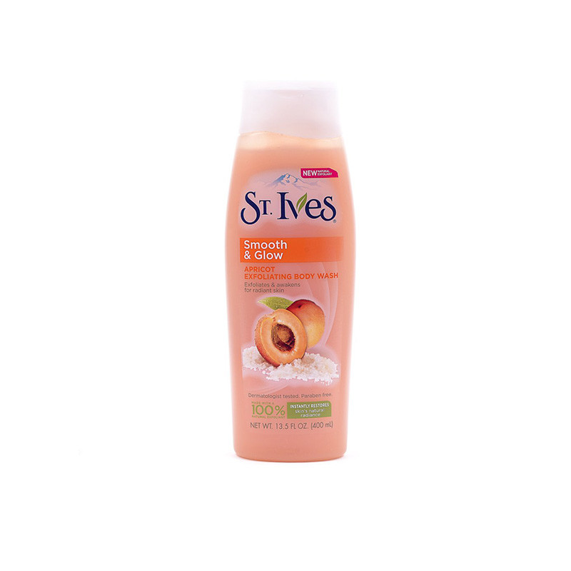 St. Ives Imported Moisturizing Body Wash Apricot, 400ml