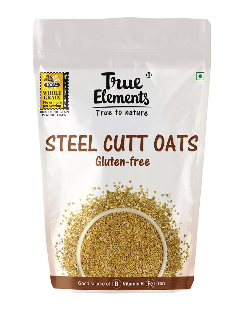 True Elements Steel Cut Oats Gluten Free 500gm