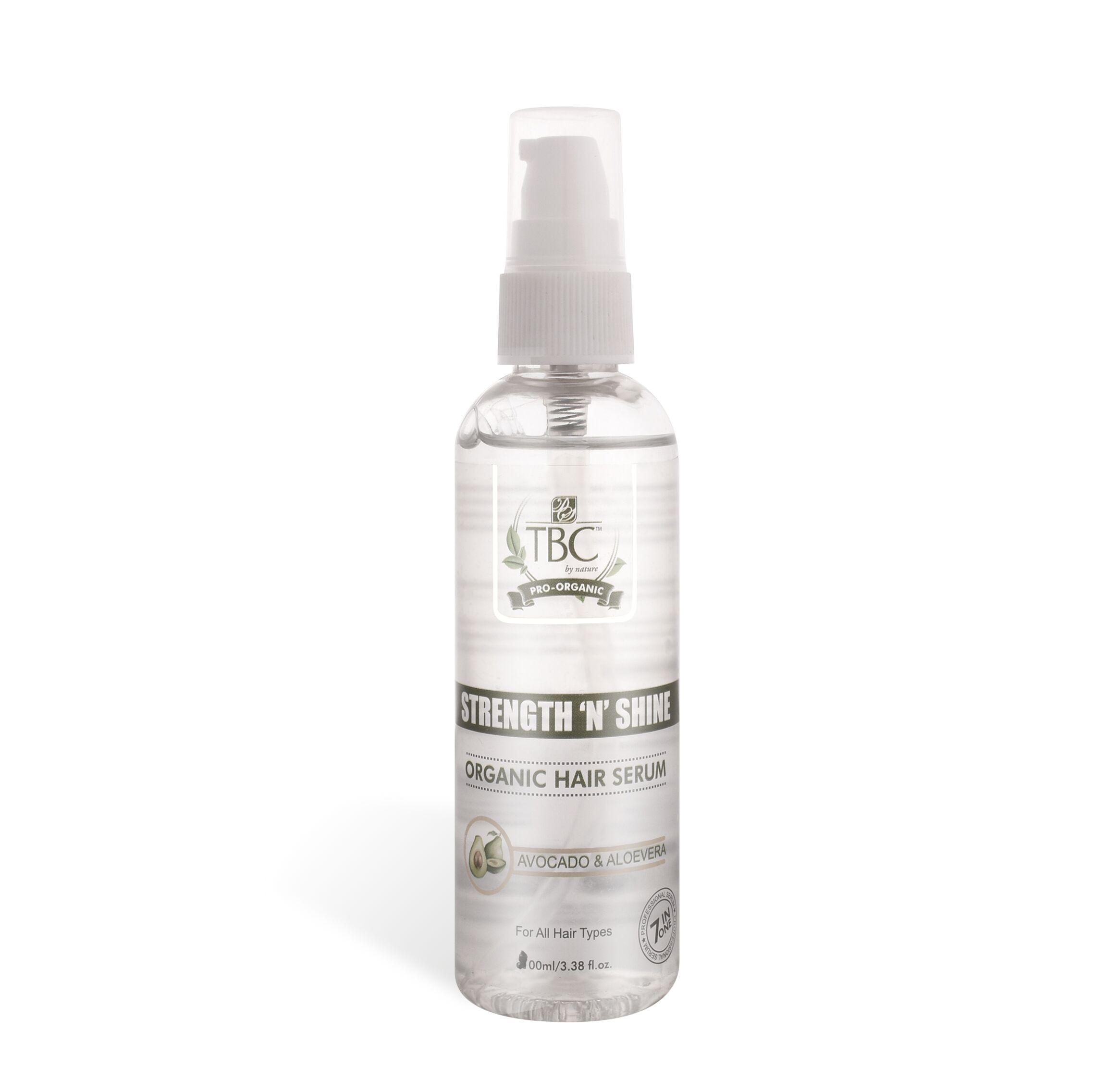 TBC Pro Strength N Shine Organic Hair Serum 100ml