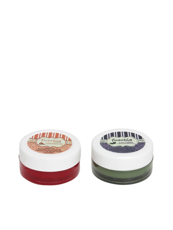 Fuschia – Pomegranate & Black Currant Lip Balm Combo 16gm