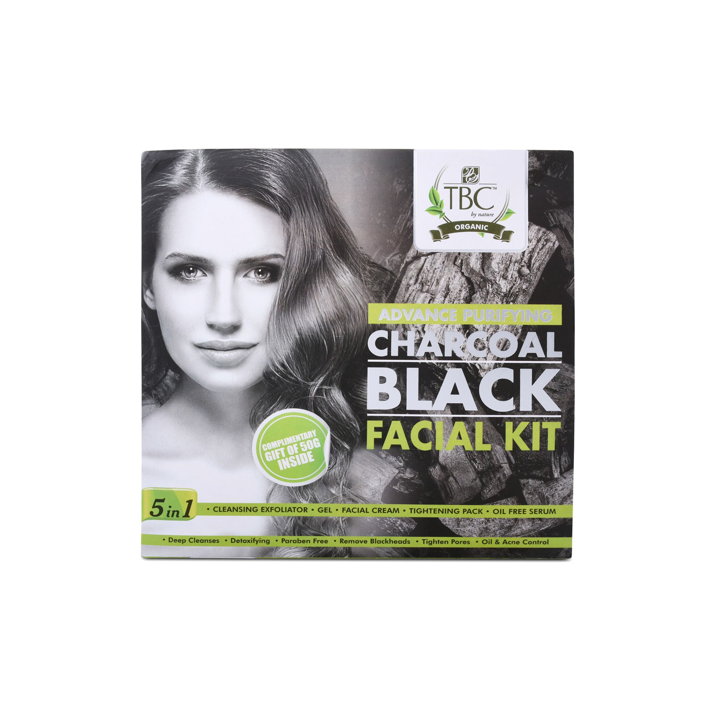 TBC Charcoal Facial Kit 100gm