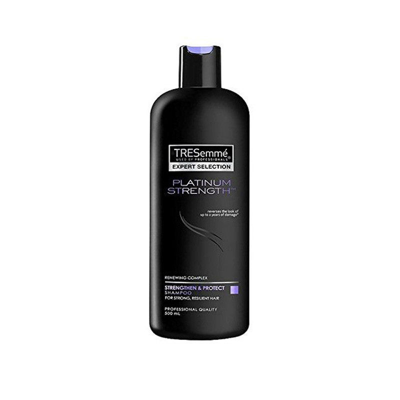 TRESemme Imported Platinum Strength Shampoo Strengthening 500ml