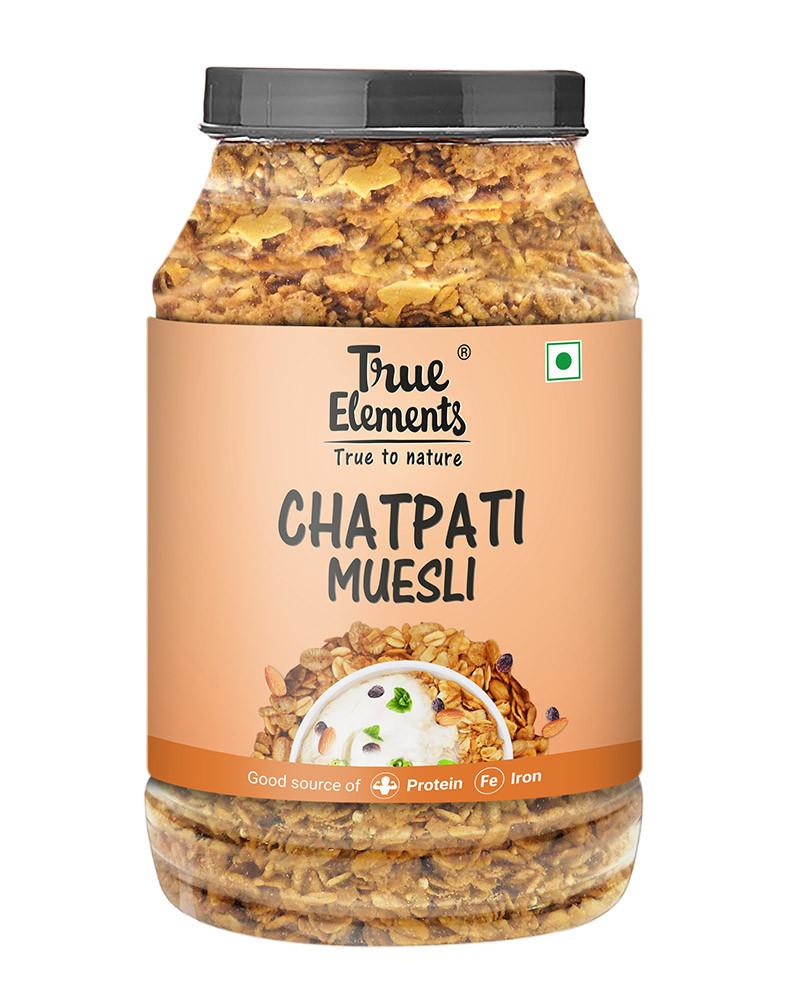 True Elements Chatpati Muesli 1000gm