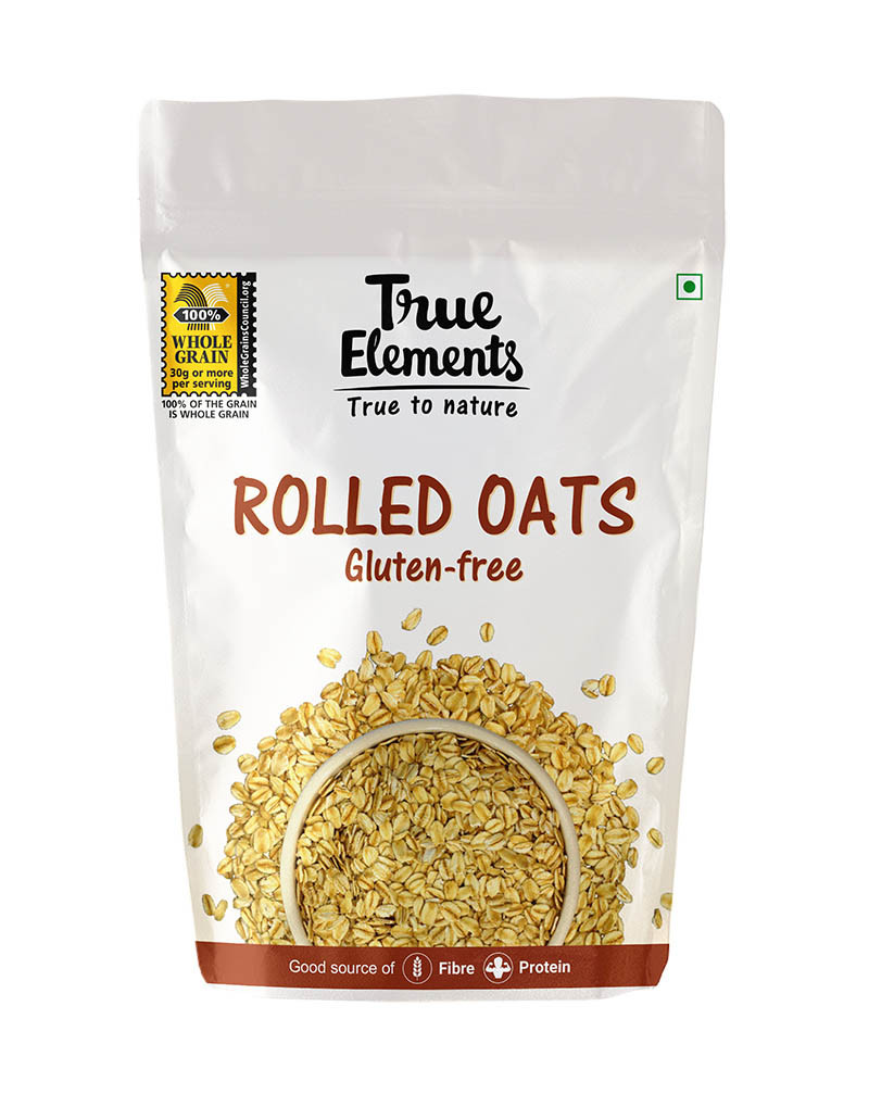 True Elements Rolled Oats 1kg