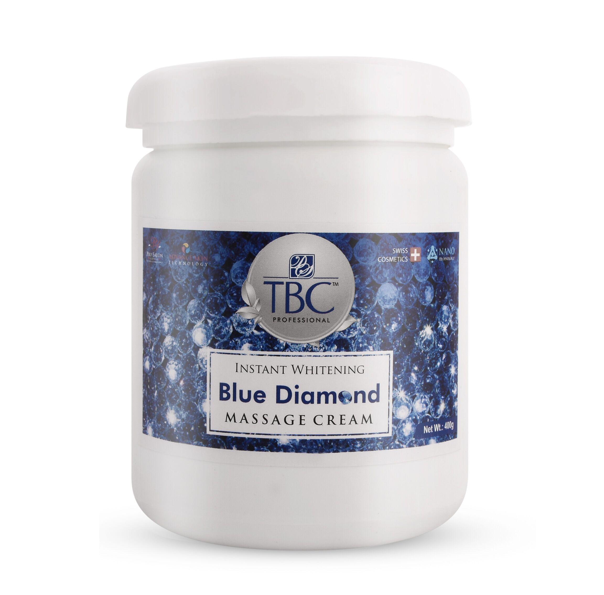 TBC Pro Blue Diamond  Face Massage Cream 400gm