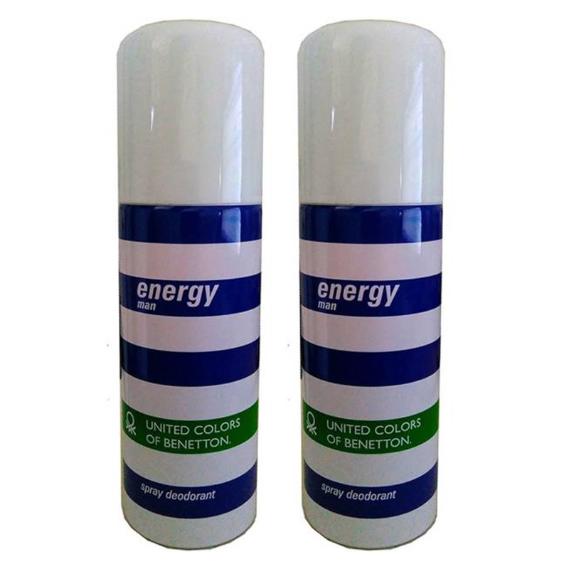 UCB Energy Man Deodorant 200Ml (Pack Of 2)