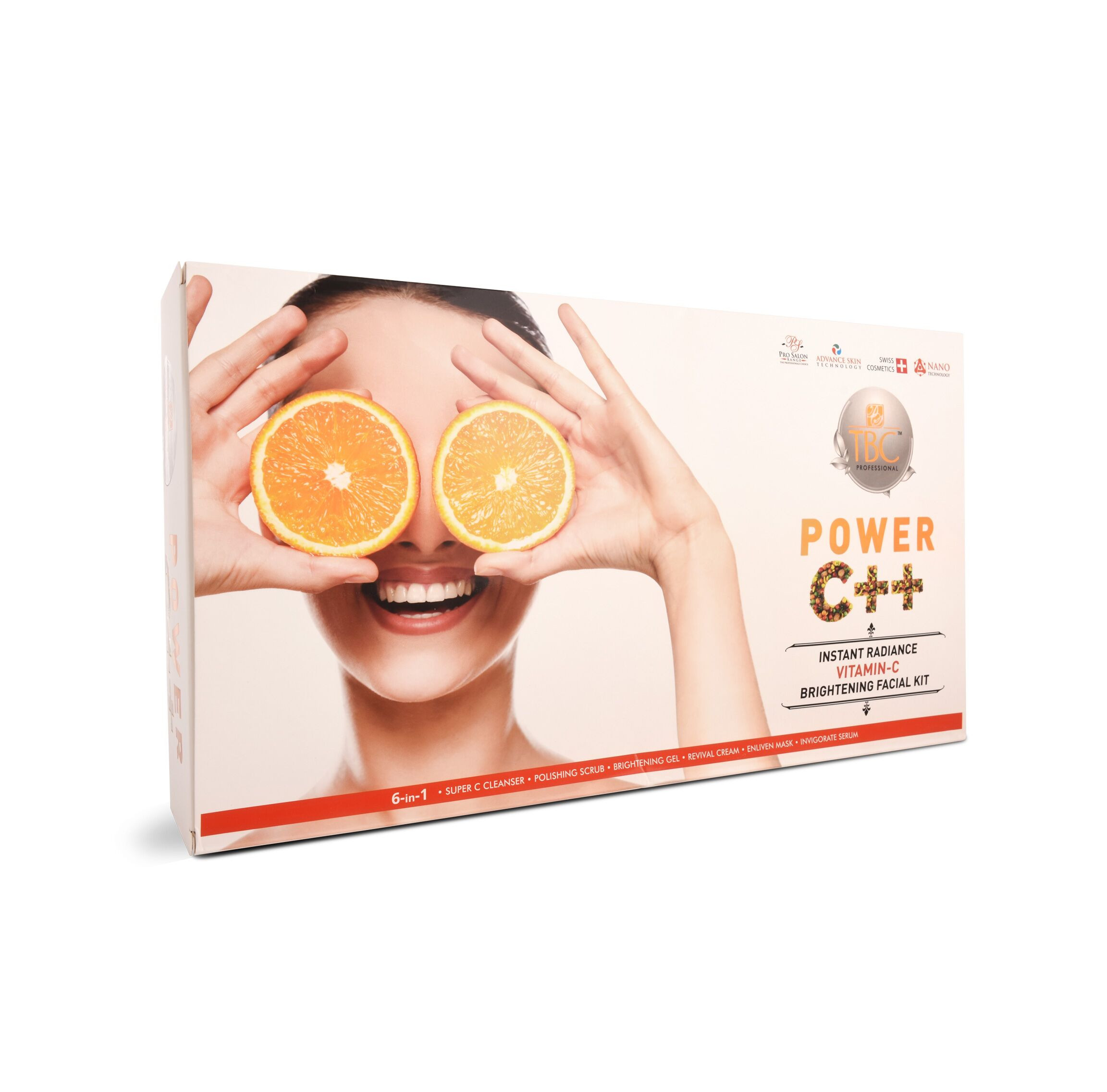 TBC Pro Instant Radiance C Brightening Facial Kit 550Gm