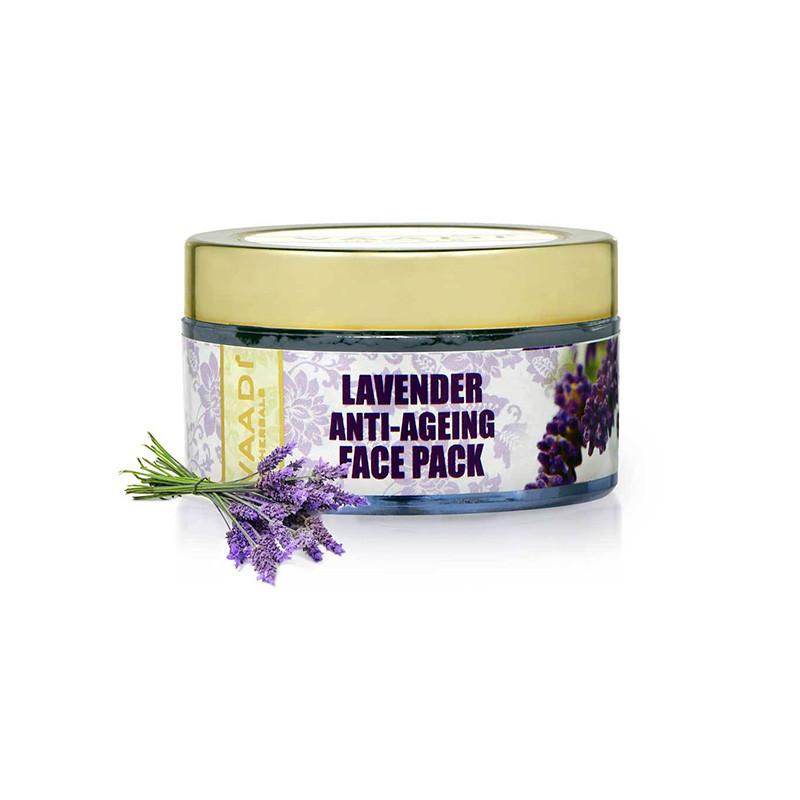 Vaadi Herbals Lavender Anti Ageing Face Pack, 70g