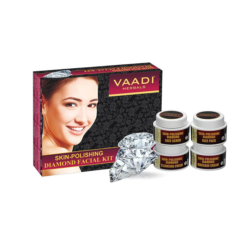 Vaadi Herbals Skin Polishing Diamond Facial Kit, 70g