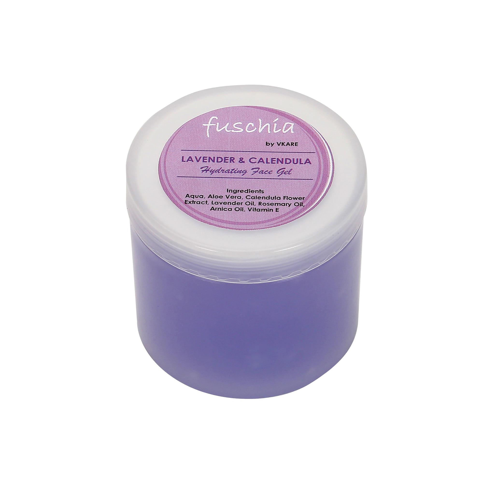 Fuschia Hydrating Face Gel - Lavender & Calendula100g