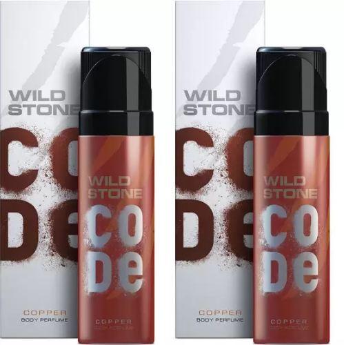Wild Stone Code Copper Body Perfume Spray 120ml -(Pack OF 2)
