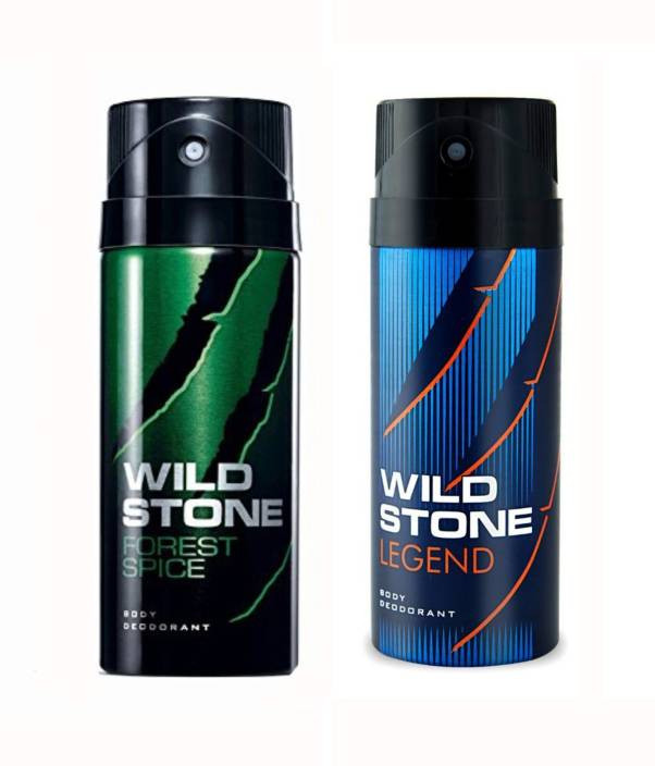 Wild Stone Forest Spice And Legend Body Spray (Pack OF 2)