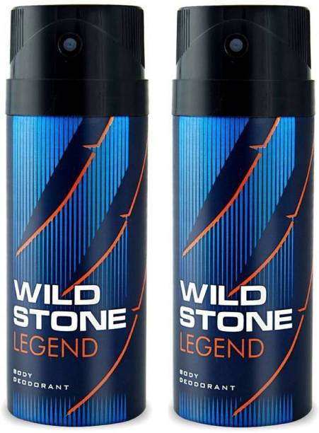 Wild Stone Legend  Body Deodorant 150ml - (Pack OF2)