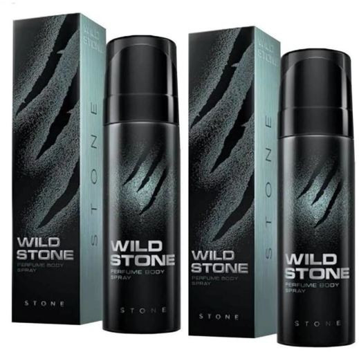 Wild Stone  Stone Body Perfume Spray 120ml -(Pack OF 2)