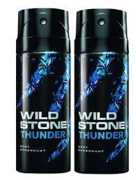 Wild Stone Thunder Body Deodorant 150ml - (Pack OF2)