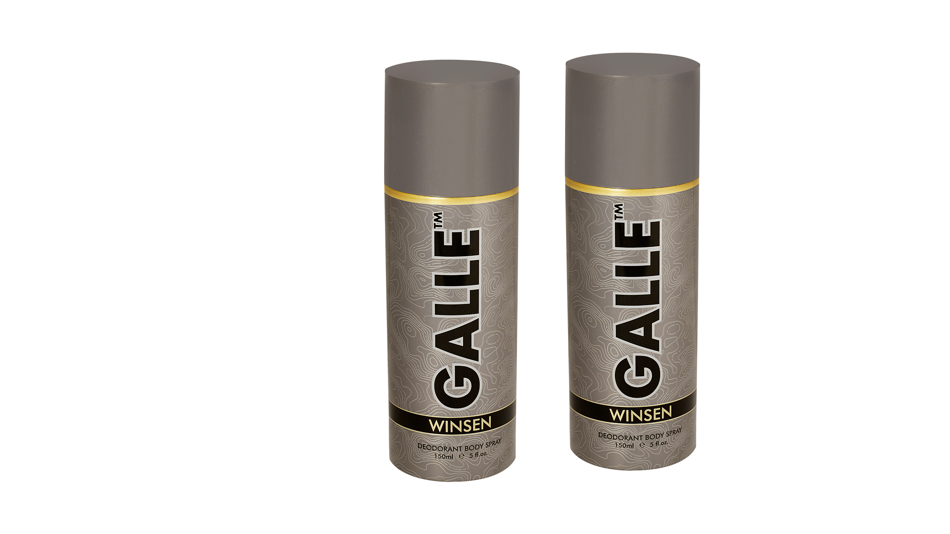 GALLE Winsen Deodorant Body Spray (150 ml each) Pack of 2