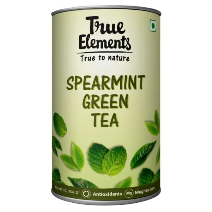 True Elements Spearmint Green Tea 100gm
