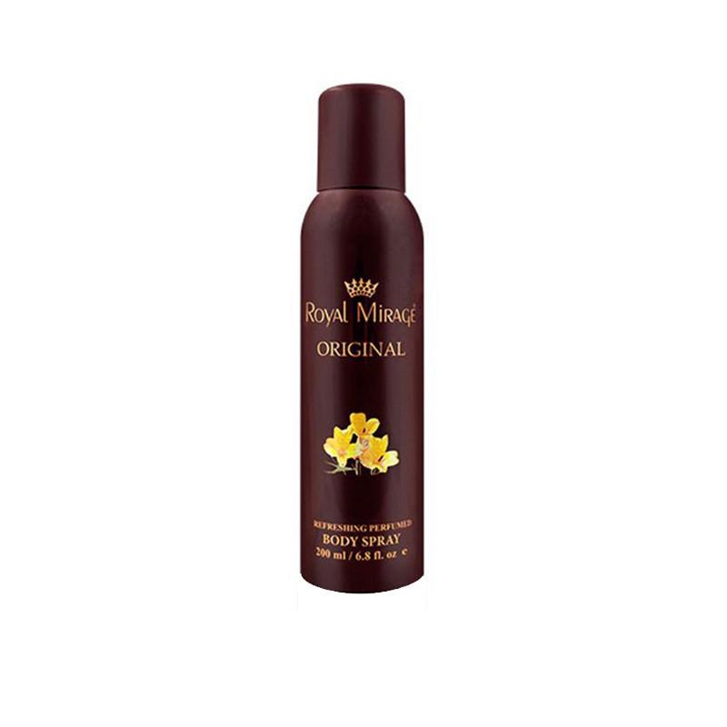 Royal Mirage Original Body Deodorant Spray - For Men & Women  (200 ml)